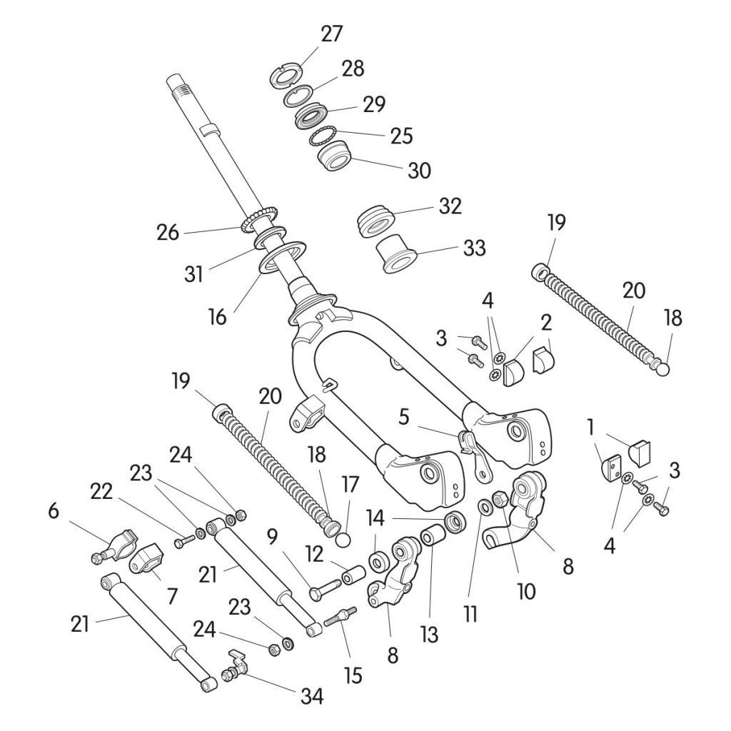 Mb Forks Technical Diagram