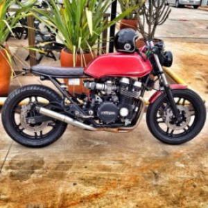 Honda CB 750 Four Café Racer / Foto: Vintage Riders