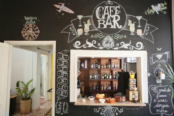 Bar e café do Estúdio 2741 (Foto: Ricardo Boni)