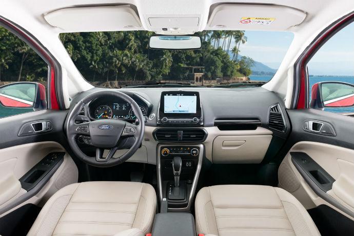 Interior do novo Ford EcoSport