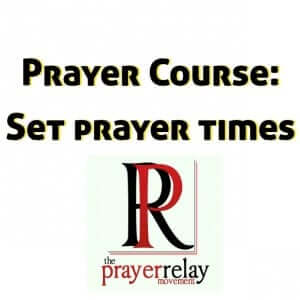 setting prayer times