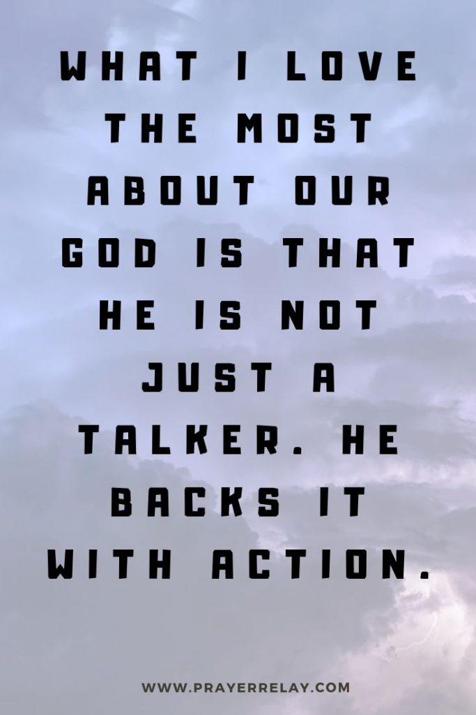 prayer of faith quote