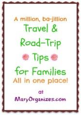 A million, ba-jillion travel and road-trip tips