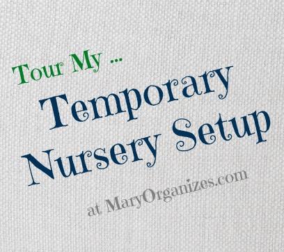 tour my temp nursery setup