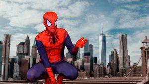 The Spider Hero - personalised superhero video message