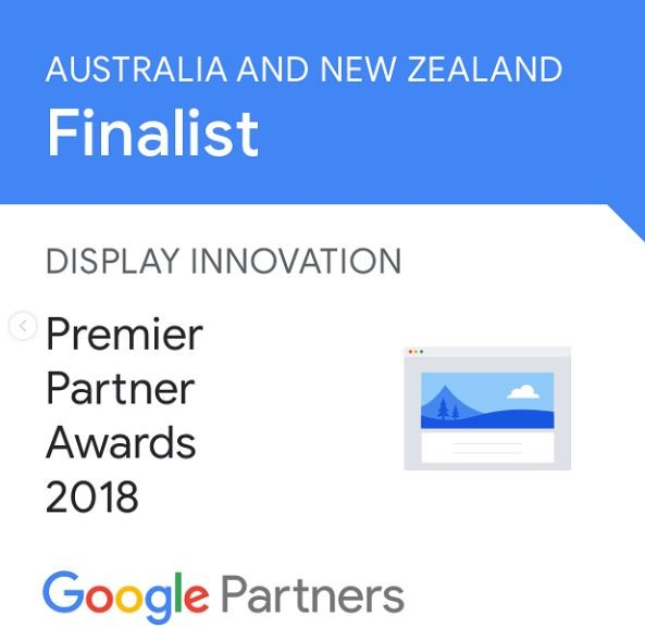 Google Premier Partner Display Innovation Award Nomination