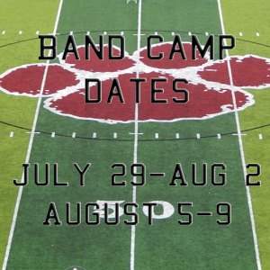 Band Camp Dates