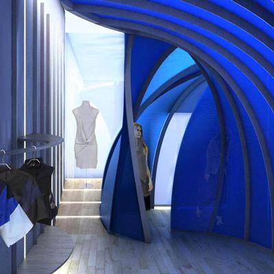 Blue Room for Ohne Titel