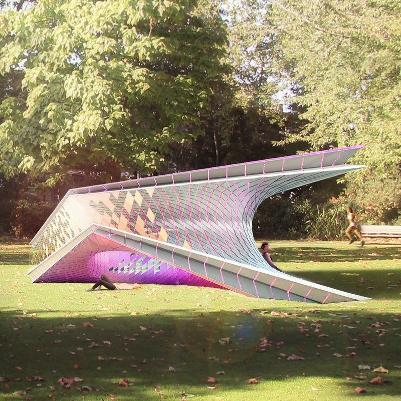 Piezo Pavilion