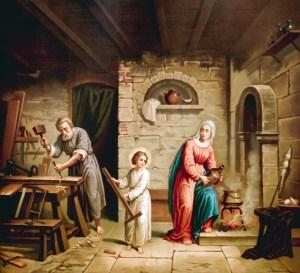 Ste Famille, Saint Joseph artisan