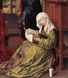 van der Weyden, Marie-Madeleine lisant