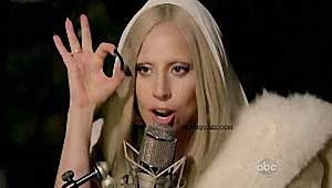 Lady Gaga, signe digital 666