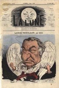 Louis Veuillot par Gill