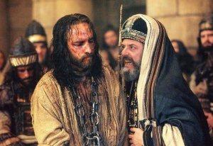 Jésus et Caïphe