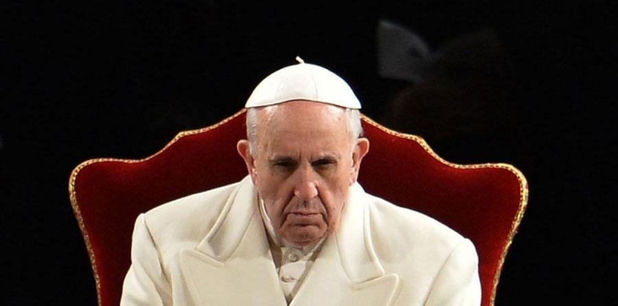 pape François déterminé à agir...