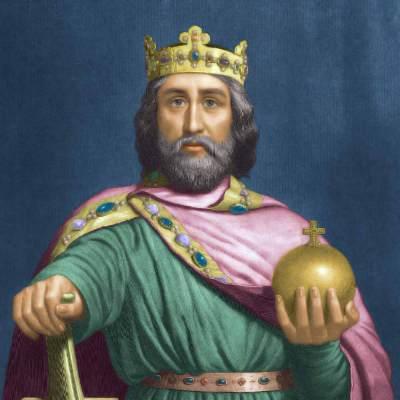 Charles 1er dit Charlemagne (Carolus Magnus), empereur d'Occident