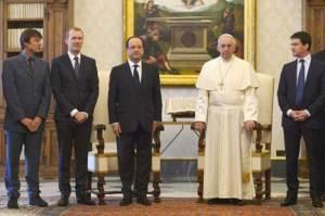 La France au Vatican...