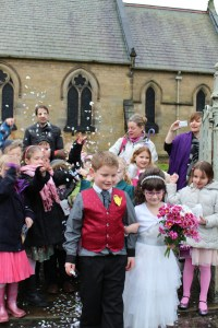 Headlands School Wedding, St Mary's Church