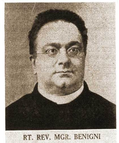 Mgr Umberto Benigni