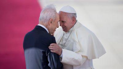 François et le président Shimon Peres