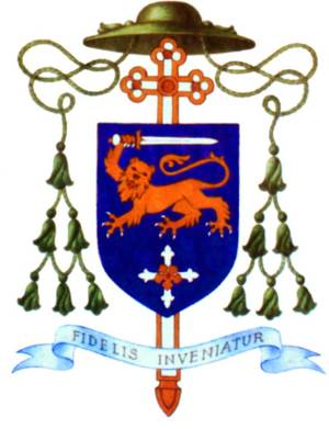 Blason de Mgr Williamson