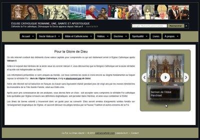 """Le site """"la foi.fr"""" présente l'Abbé Marchiset"""