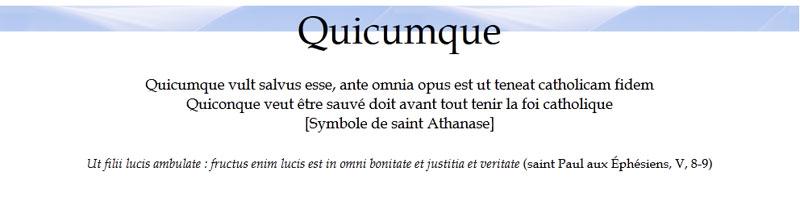 Quicumque