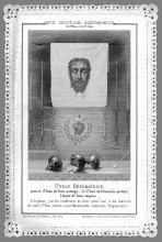 Image de la Ste Face et du St Cœur de Jésus