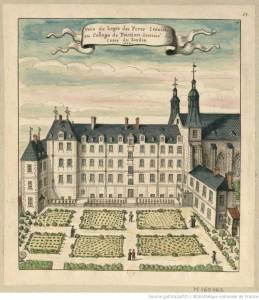 Collège Jésuite de Poitiers au XVIIe
