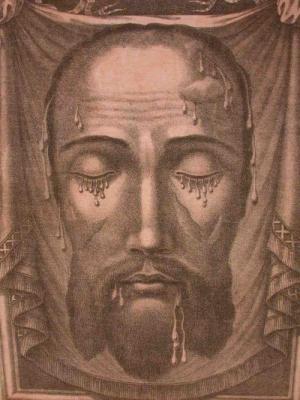 L'image de la Sainte Face de Notre-Seigneur diffusée à la suite du miracle du 6 janvier 1849