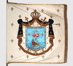 Bannière des Amis du Christ Roi de France