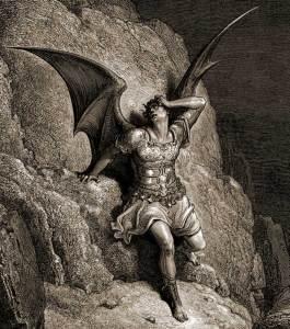 Satan vu par Gustave Doré.