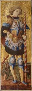 Saint George, 1472, par Carlo Crivelli