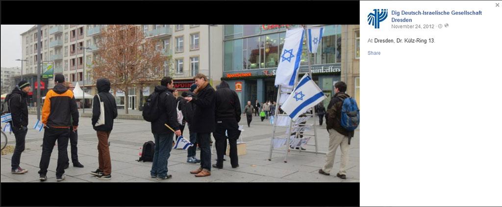 Krah fait de la propagande pour l'état d'Israël