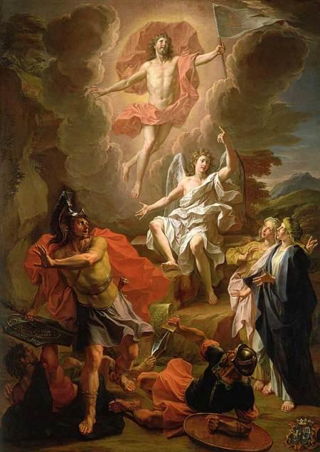 La Résurrection du Christ par Noël Coypel
