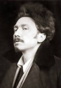 Ezra Pound by EO Hoppe, 1920