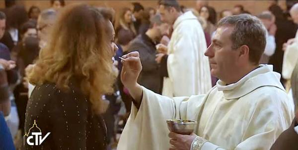 "La ""communion"" d'un transsexuel"