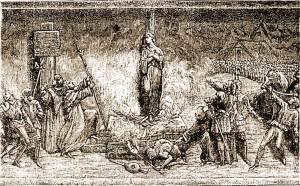 Supplice de Jeanne d'Arc, le 30 mai 1431