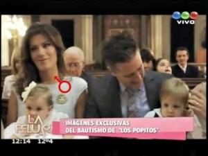 """Baptême d'enfants de sodomites avec  """"communions"""" sacrilèges des sodomites"""