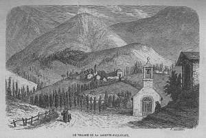 Le village de La Salette-Fallavaux