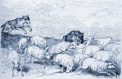 Le Pasteur est frappé, le troupeau dispersé.