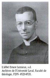 Abbé Ernest Lemieux