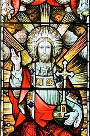 Christ de Gloire, détail