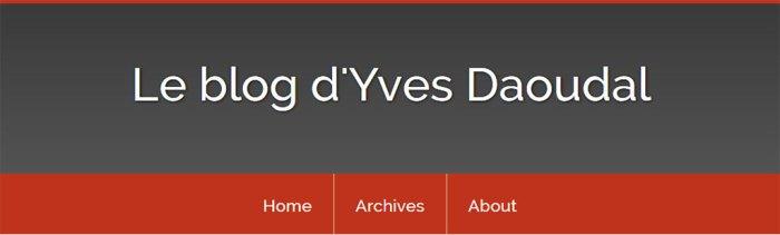 Le Blog d'Yves Daoudal