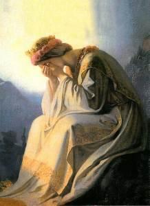La Salette, les larmes de Notre-Dame