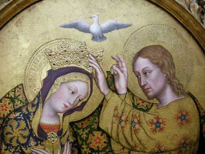 Gentile da Fabriano, Couronnement de la Vierge