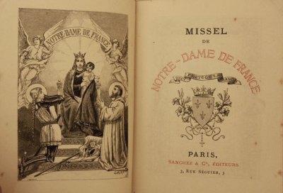 Missel de Notre-Dame de France