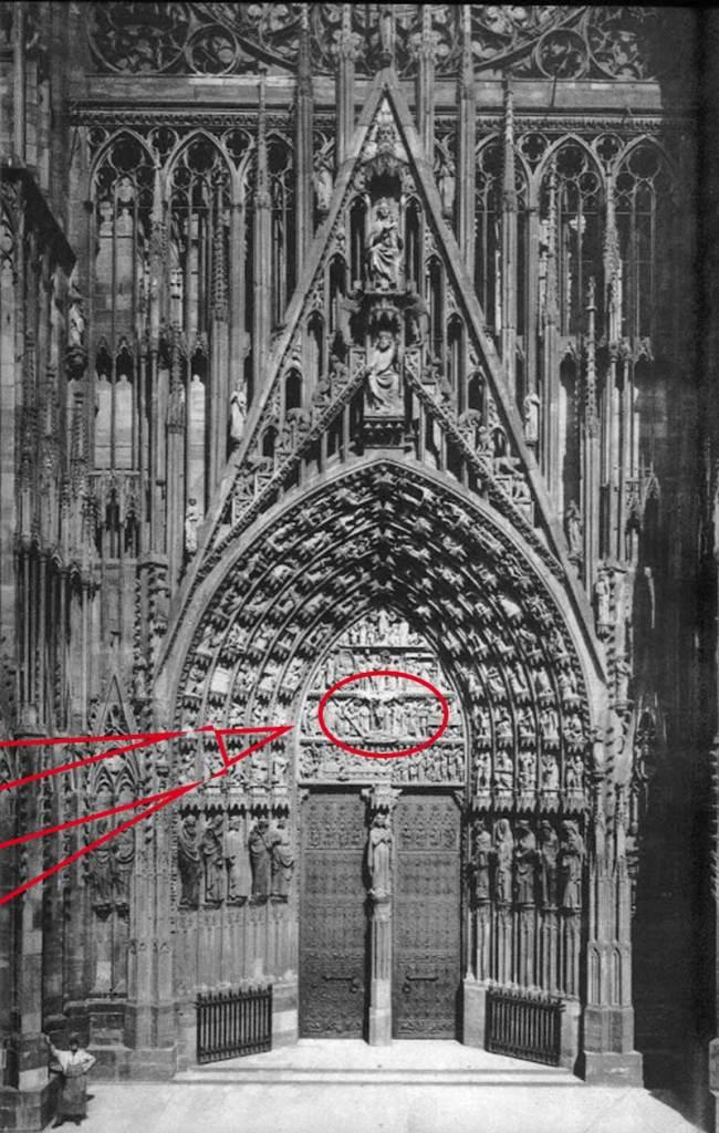 Portail Central de la Cathédrale de Strasbourg
