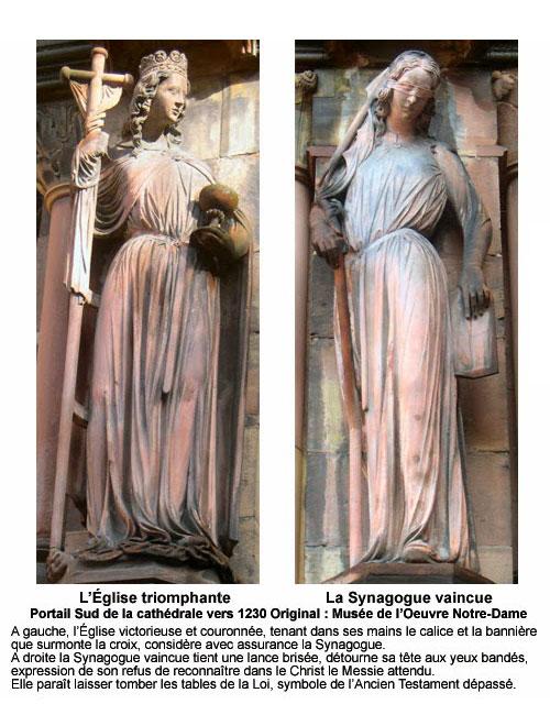 Portail sud de la Cathedrale de Strasbourg