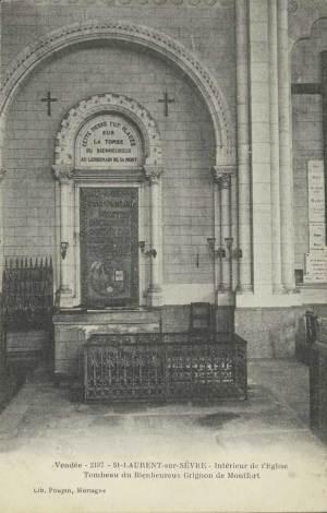 Tombeau de Montfort dans l'église paroissiale